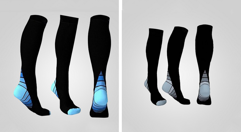 travel support socks