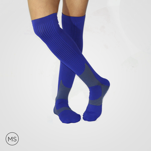 Blue Heat - Compression Socks
