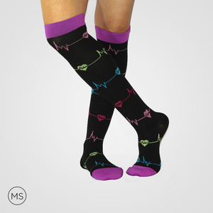 Heart Beats-Compression Socks