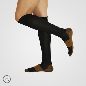 Medico Copper Black - Compression Socks
