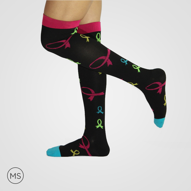 Ribbons  - Compression Socks