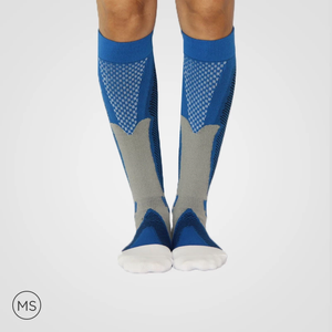 Solid Multi Color Bundle Compression Socks (3 Pairs)