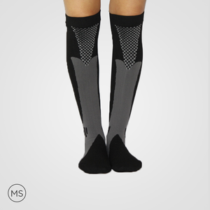 Sports Grey - Compression Socks
