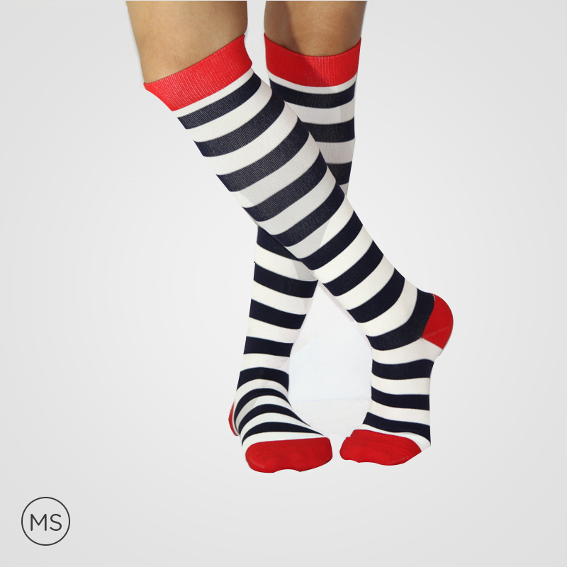 Zebra Stripes  - Compression Socks