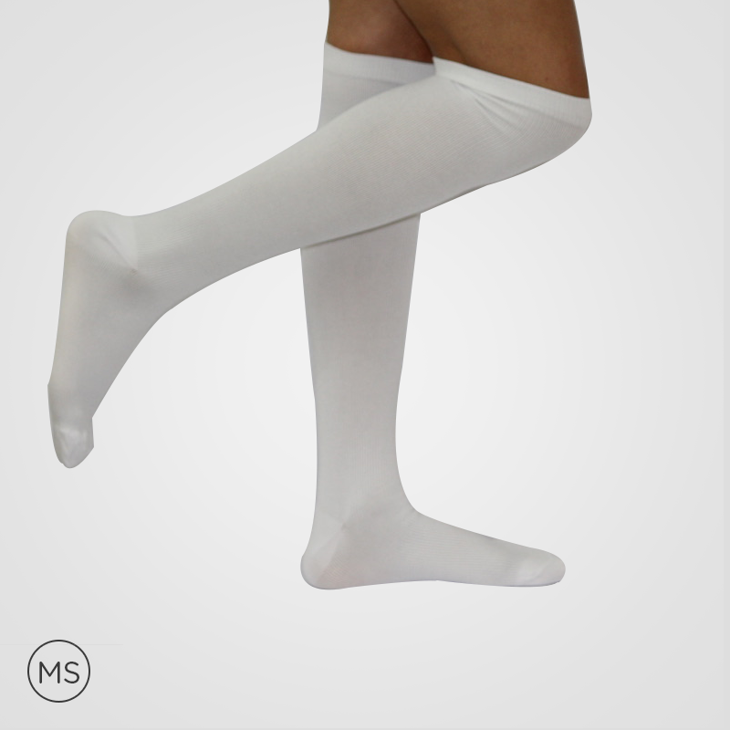 Regular White - Compression Socks