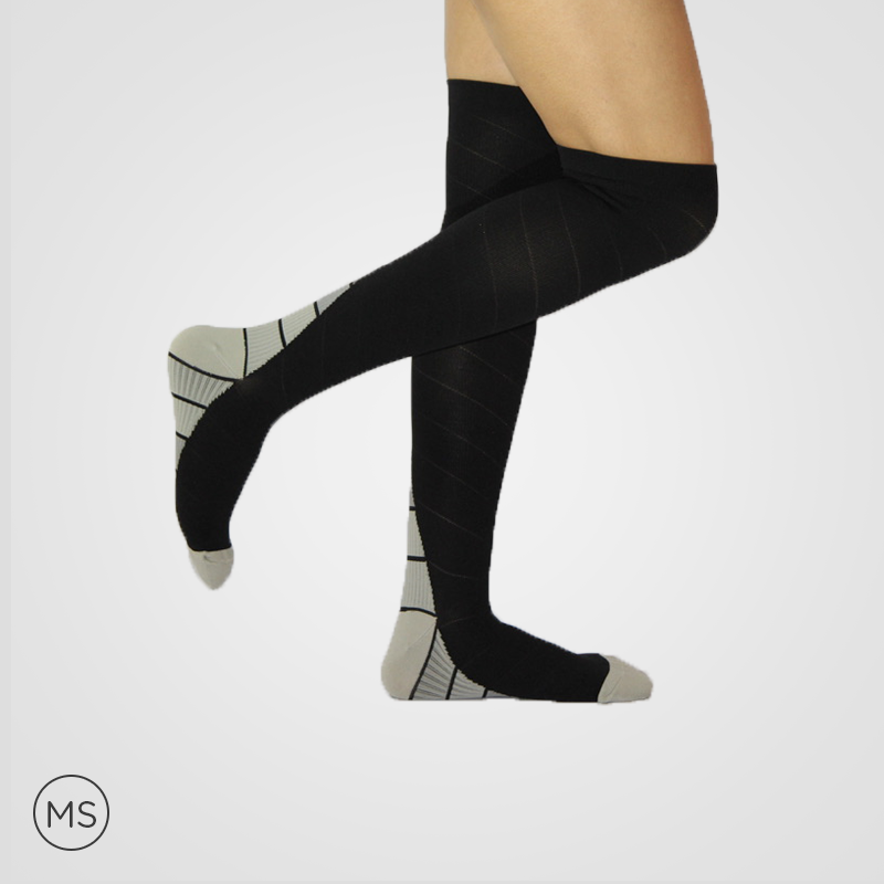 Active Grey - Compression Socks