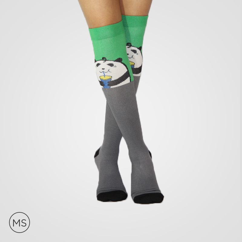 Panda Print - Compression Socks