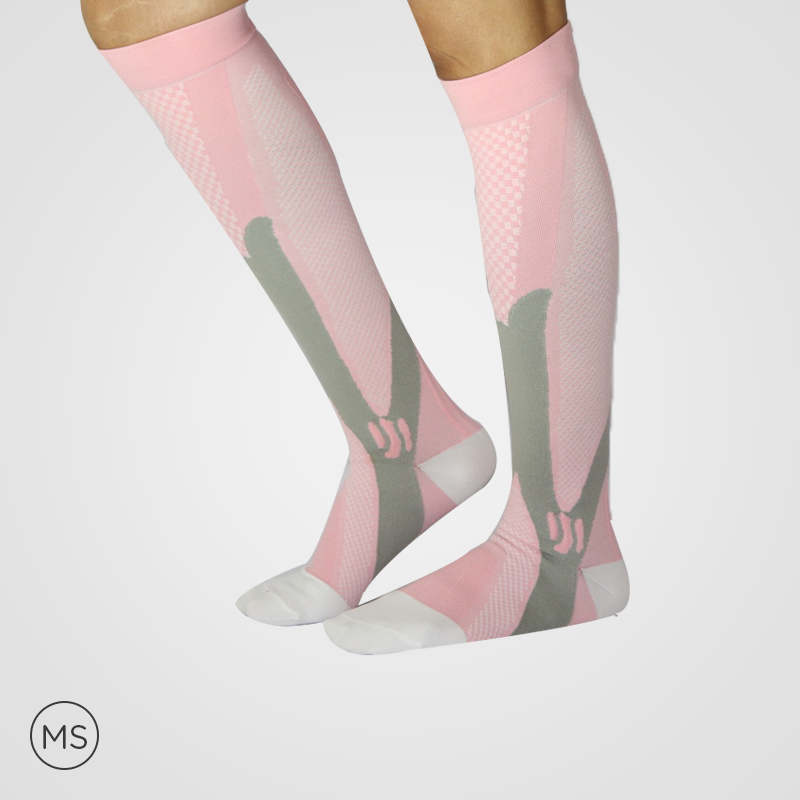 Sports Pink - Compression Socks