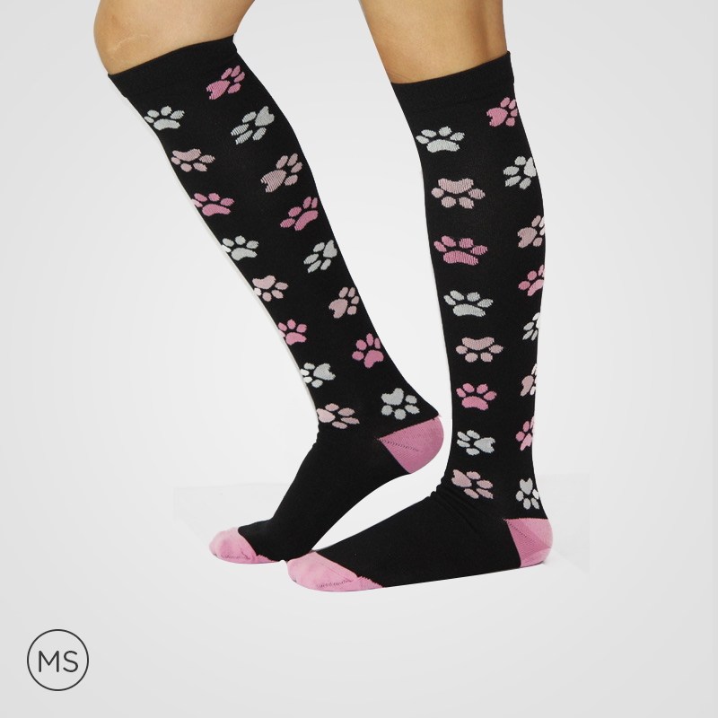 Paw Foot Print - Compression Socks