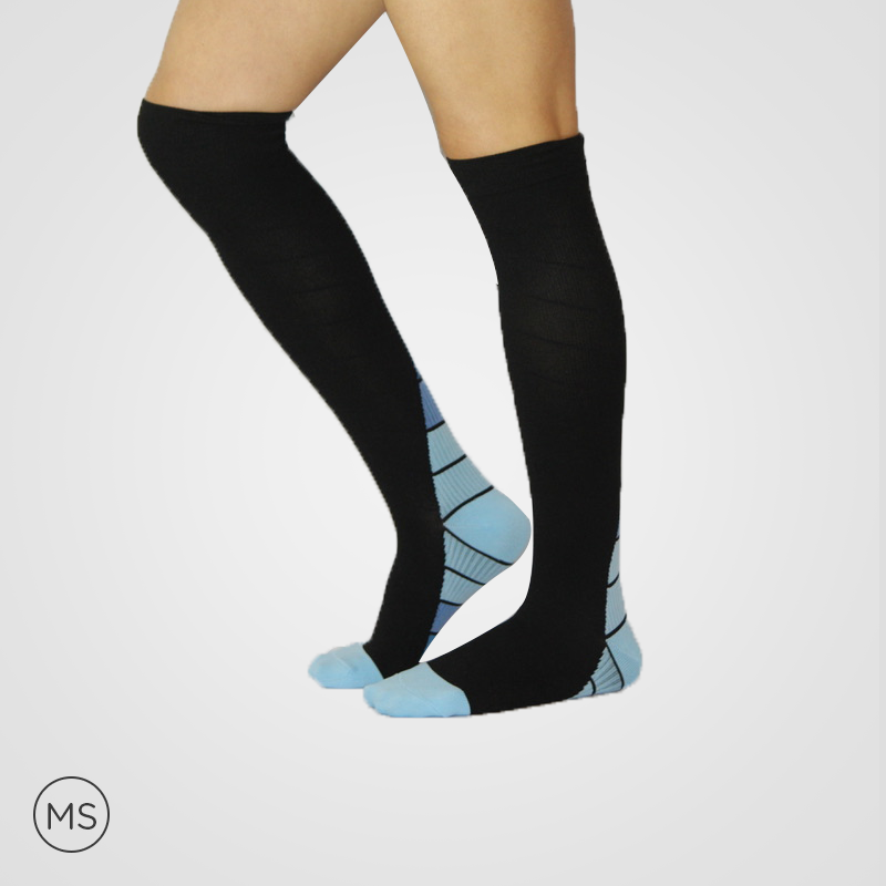 Active Blue - Compression Socks