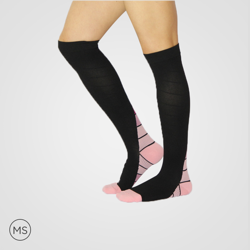 Active Pink - Compression Socks