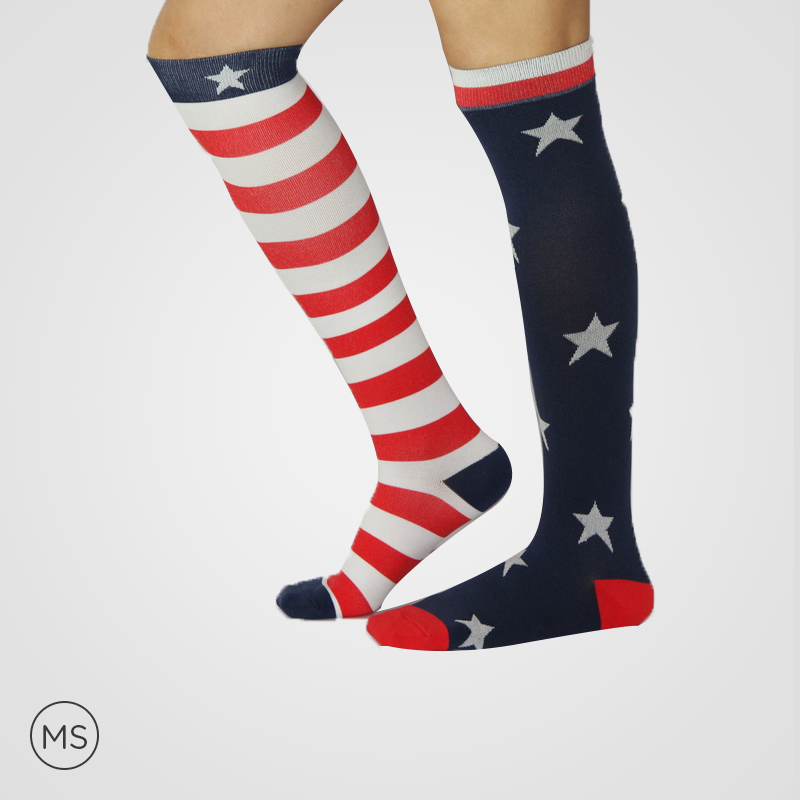 USA Flag - Compression Socks
