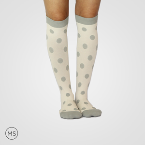 Grey Bubbles - Compression Socks