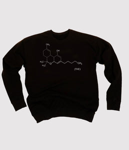 THC Black Sweatshirt