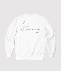 THC White Sweatshirt