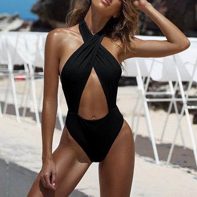 Sexy Backless Bandage One-Piece