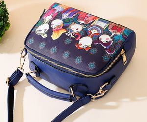 Women Fashion Forest Pattern Printing Crossbody   Bag Handbag Single Shoulder Bag