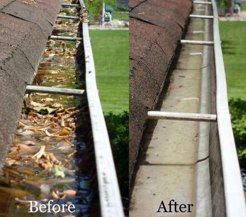 Gutter Cleaning Special (Single Family Home)