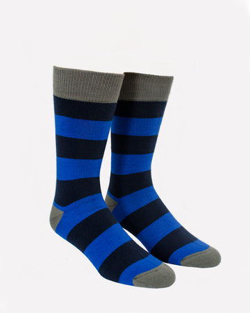 MODERN BLUE STRIPED THERMALS