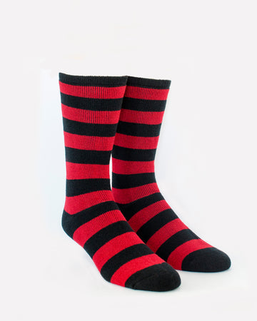 MODERN COOL RED STRIPED THERMALS
