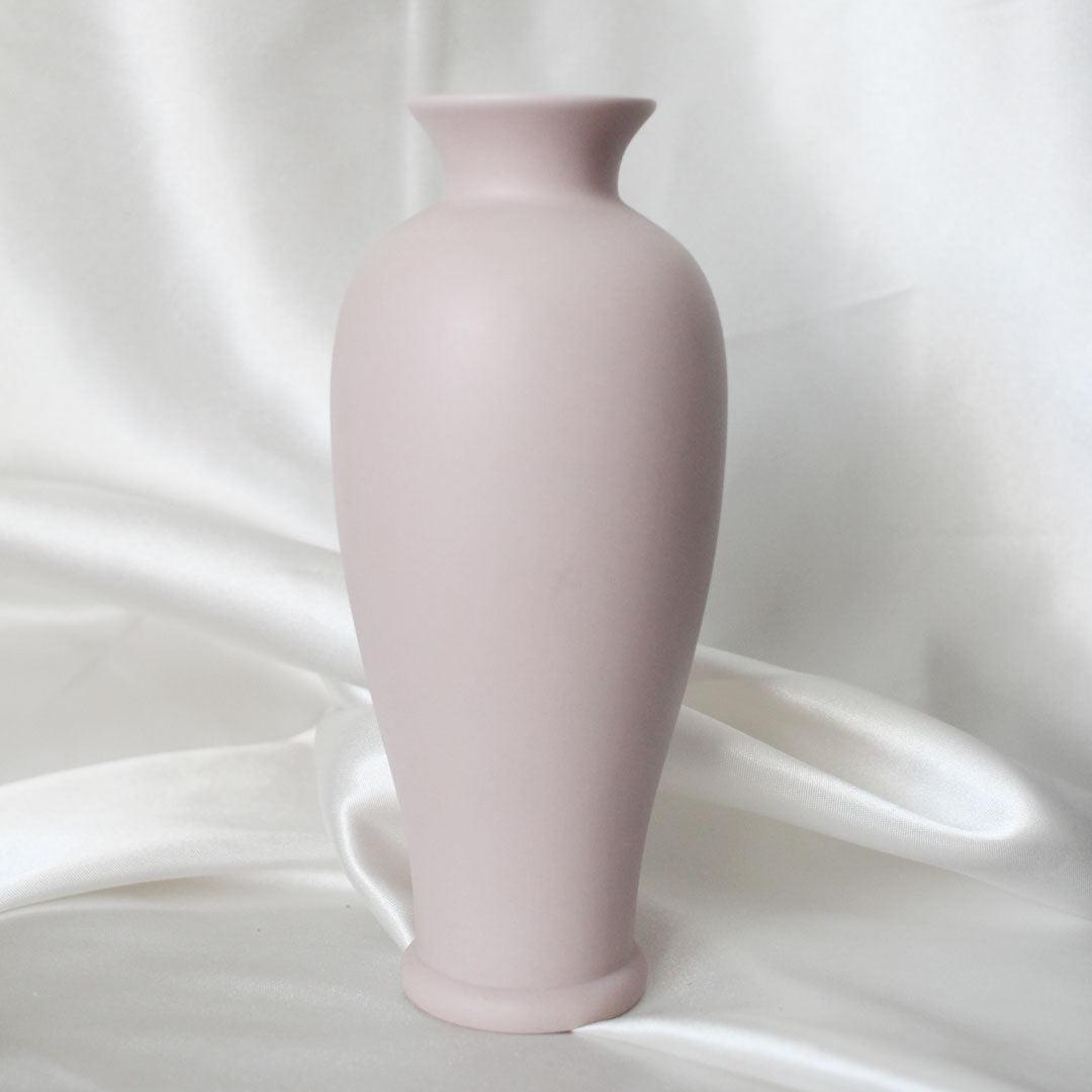 Pink Calla Lily Vase | Vintage Home Decor | Mass Over Matter