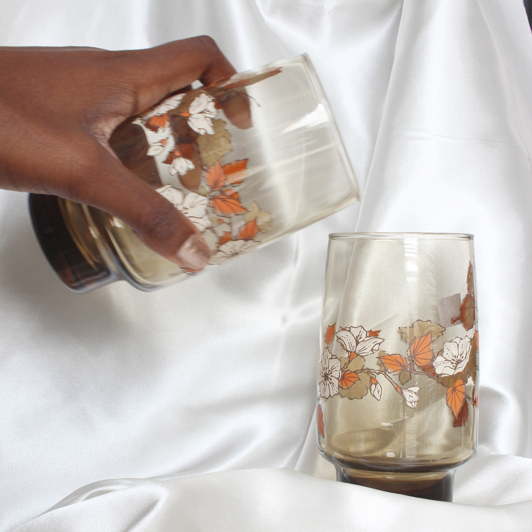 Vintage Butterfly Drinking Glasses | Mass Over Matter
