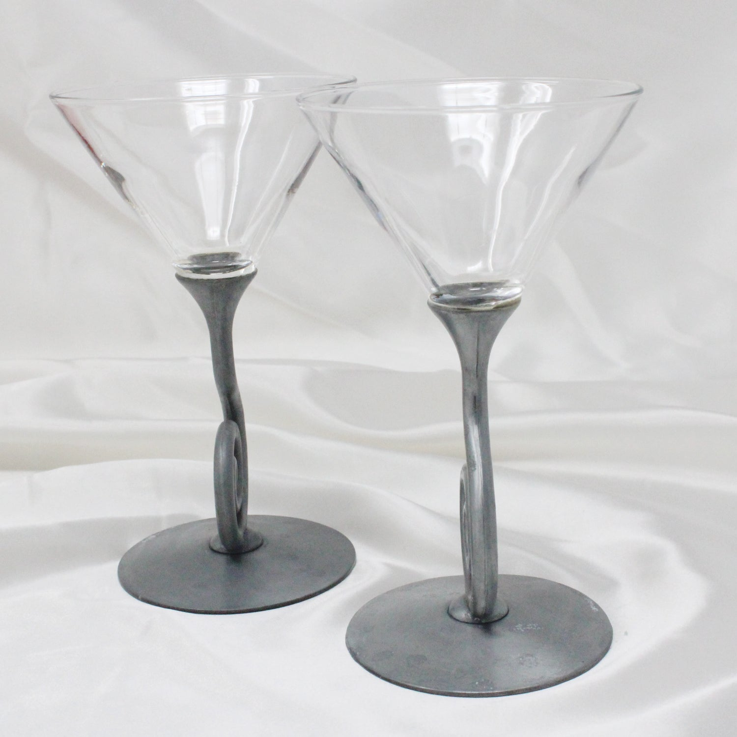 ULLA DARNI Spiral Stem Martini Glasses