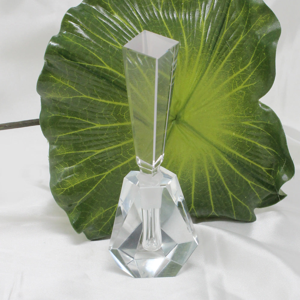 Geometric Crystal Perfume Bottle