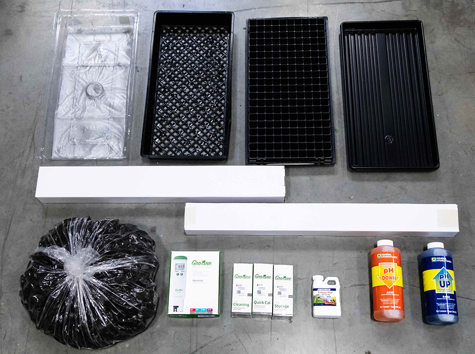 Hydroponic Grower's Starter Kit [Beginner Bundle] -USA only