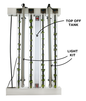ZipGrow™ Farm Wall LED, T5 Light Mounting Kit
