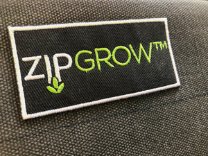 ZipGrow™ Embroidered Stickers w/ Adhesive Backing