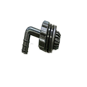 1/2 Inch Barbed Elbow Bulkhead Connector