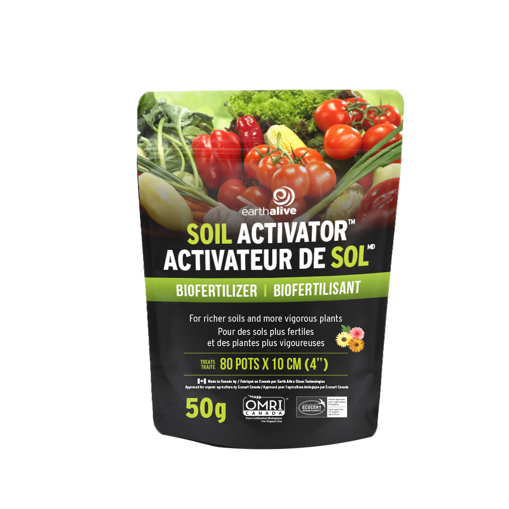 Earth Alive Soil Activator – Microorganisms for soil and Hydroponic crop production