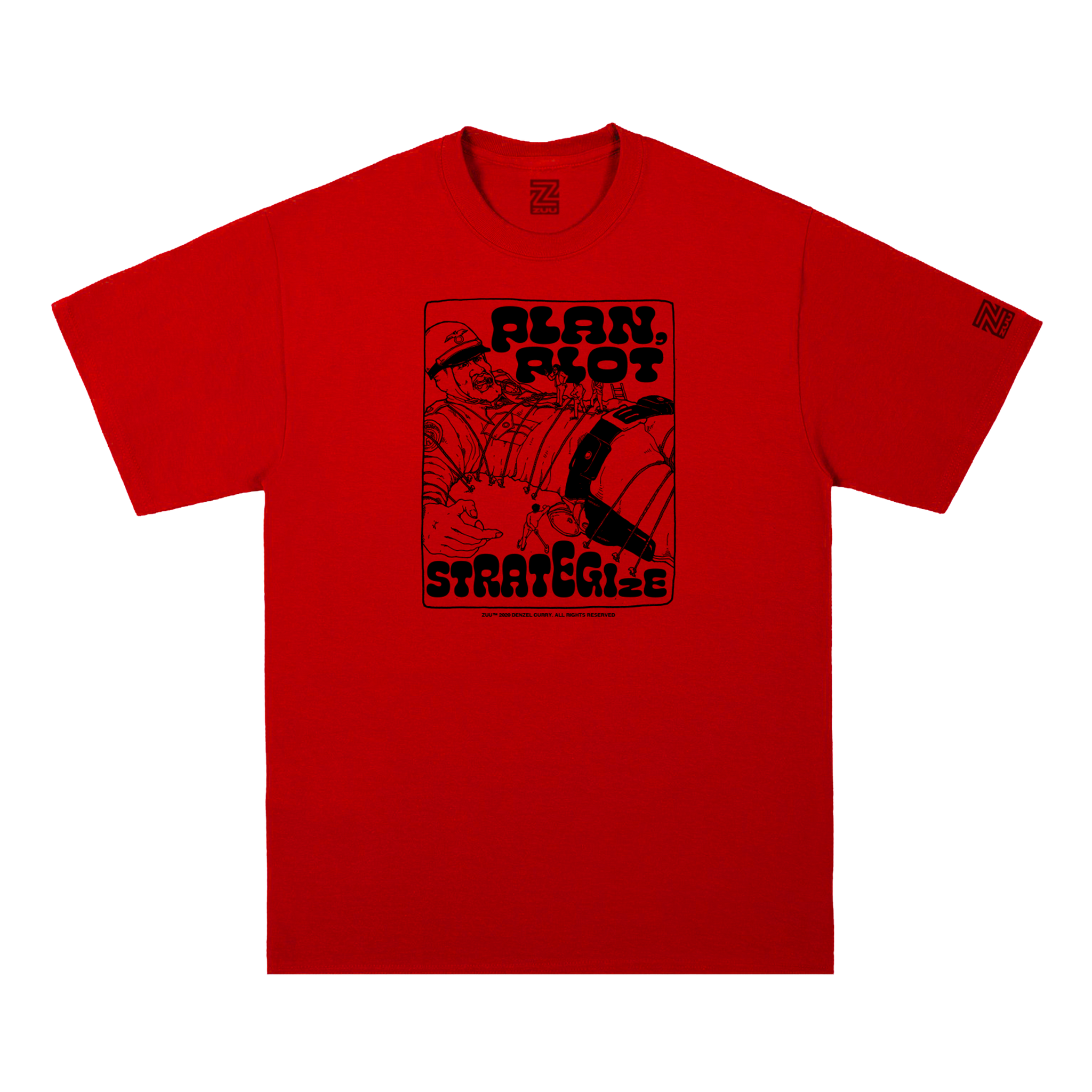 STRATEGIZE TEE (RED)