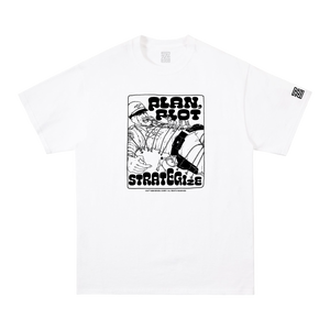 STRATEGIZE TEE (WHITE)