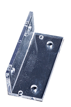 Angle Bracket Clear Polycarbonate AU Made