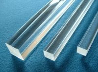 Rod Squre 6mm x 6mm x 1220mm Extruded Clear Acrylic