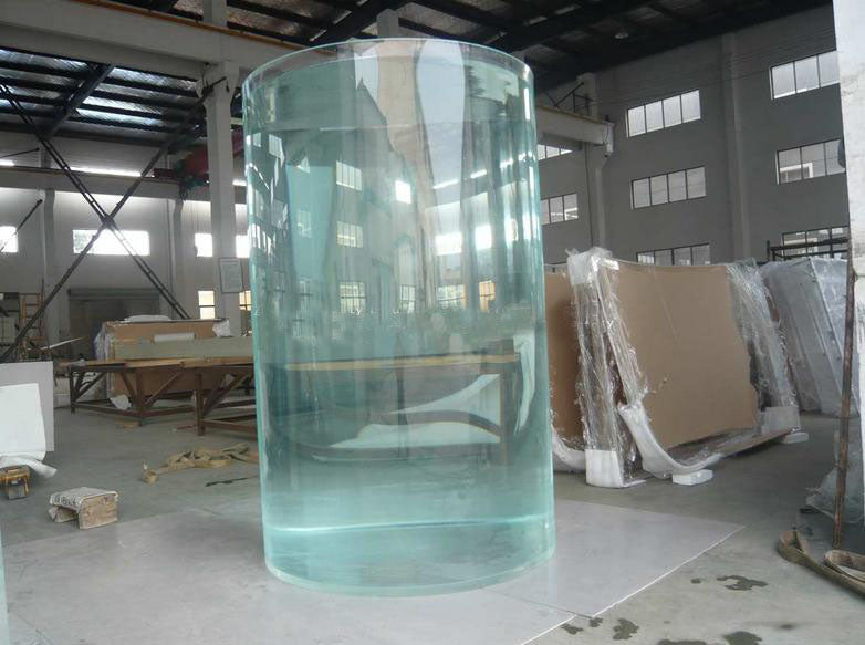Clear Cast Acrylic Tube 1000mm x 988mm x 2000mm