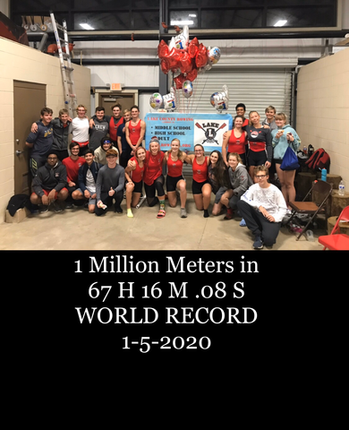 1 Million Meters World Record