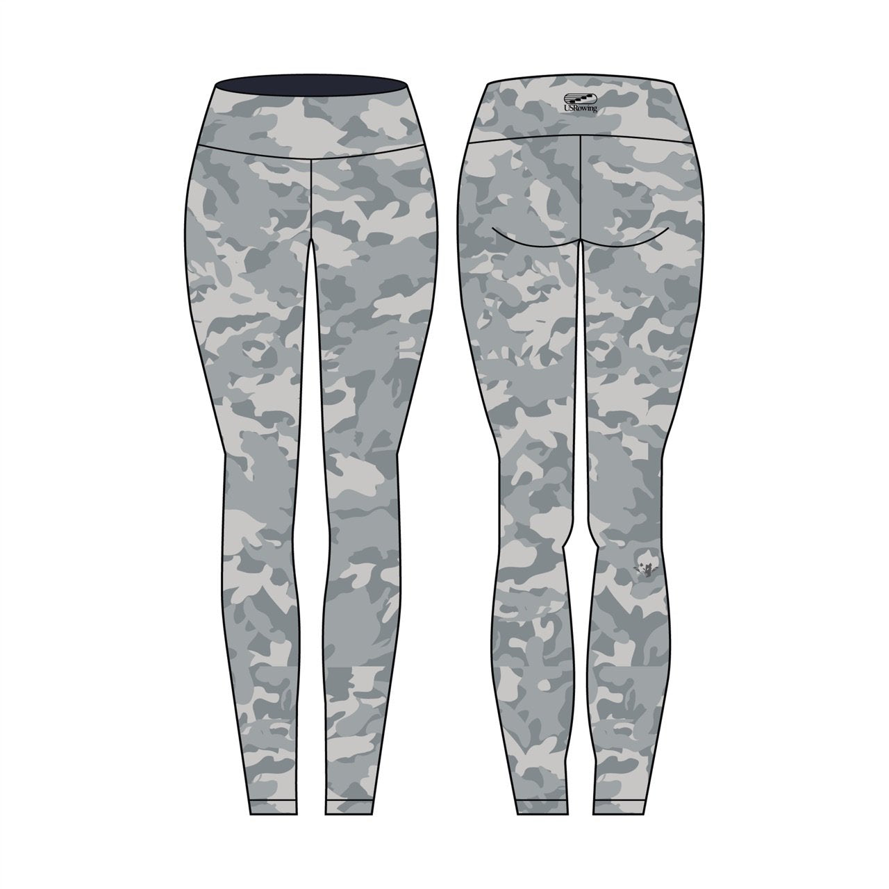 9fd81113f2d78d USR Women's Camo Legging - JL Racing