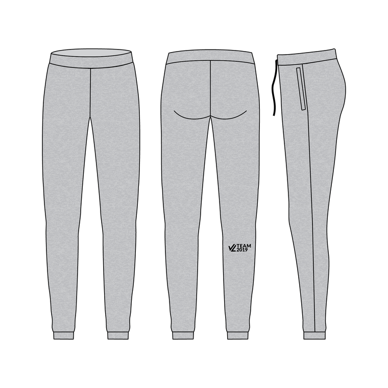 Women's Luxe Warmup Pants (Lazy Pants) - TEAM JL