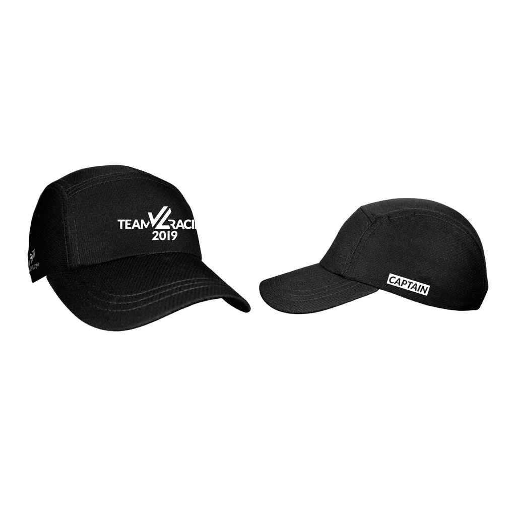 JL Black Tech Hat - TEAM JL CAPTAIN