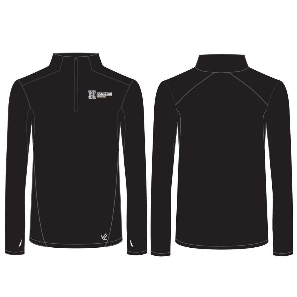 Men's Performance Quarter Zip - HAMILTON COLLEGE