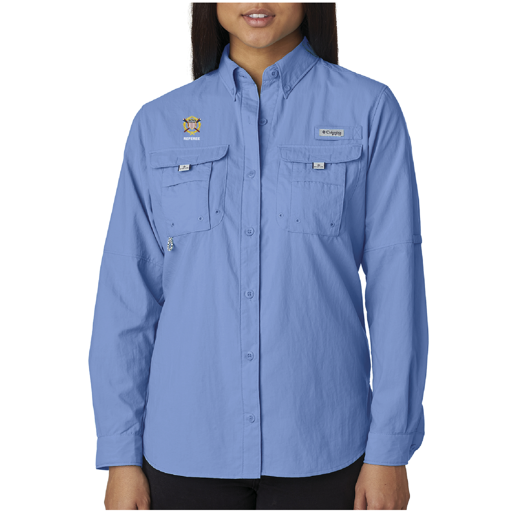 Women's Columbia Long Sleeve Shirt - USROWING
