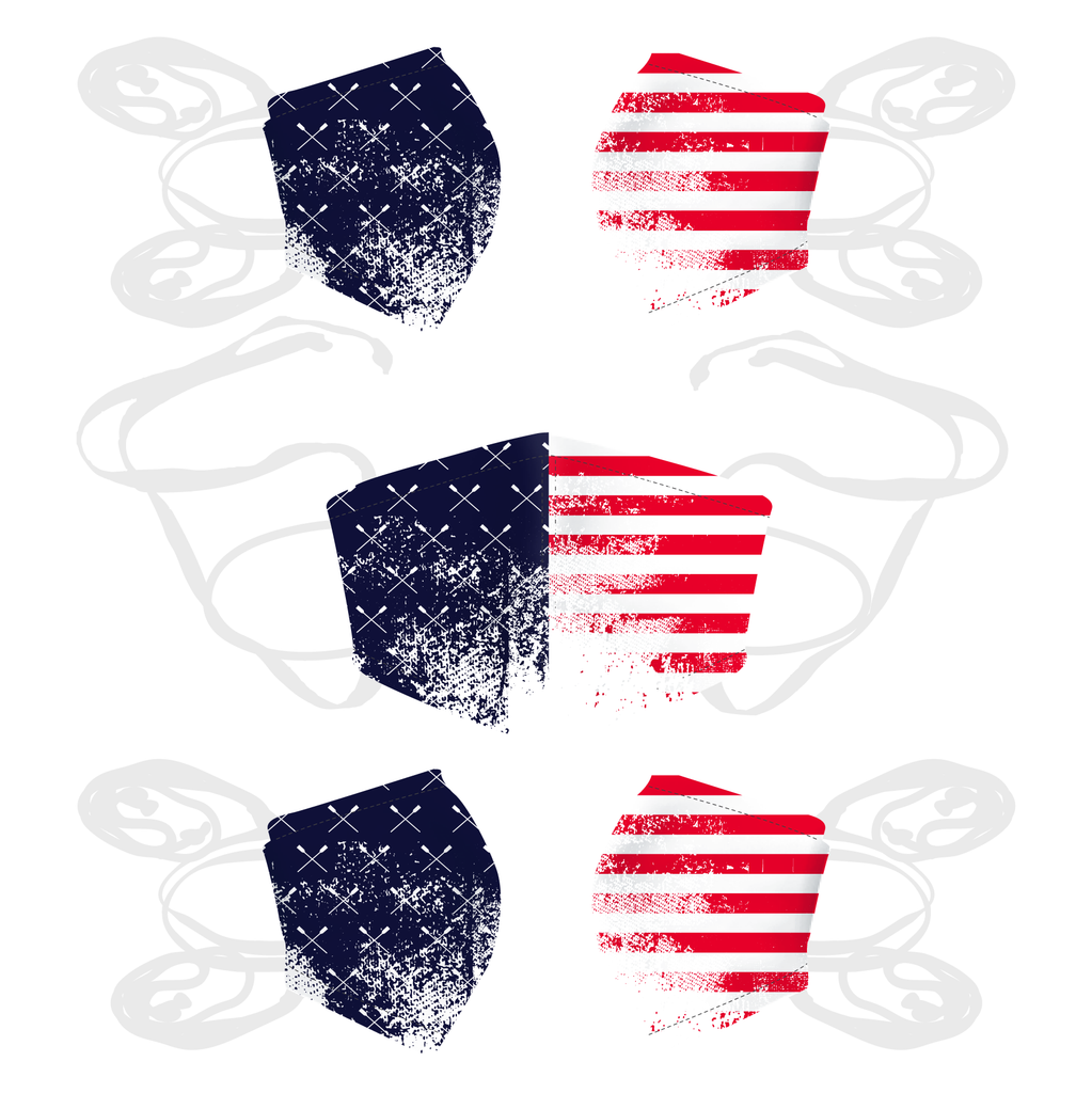5 Pack - United States of Rowing Mask