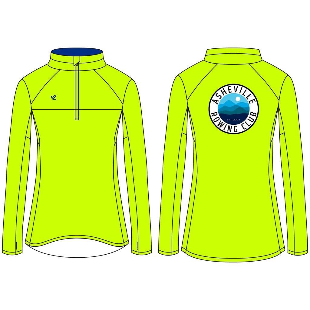 Women's Wild Oar Performance Quarter Zip - ASHEVILLE