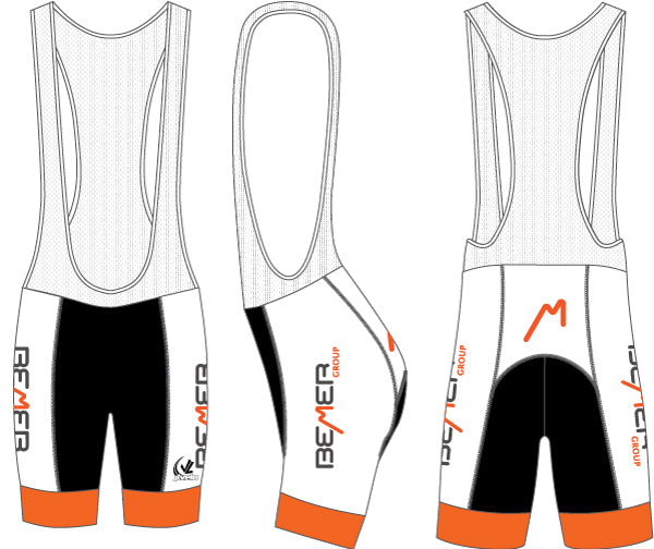 Men's Team Ringer Bib Short - BEMER