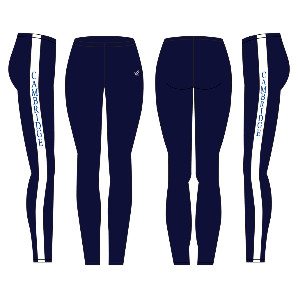 "Unisex Vertical 2"" Tight - CAMBRIDGE BOAT CLUB"