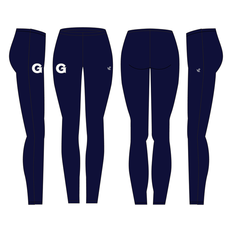 Unisex Solid Tight - GEORGETOWN UNIV.