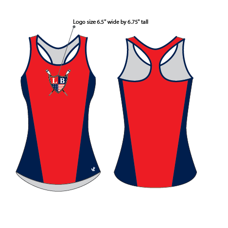 Women's Wild Oar Mesh Tank - LAKE BRANTLEY